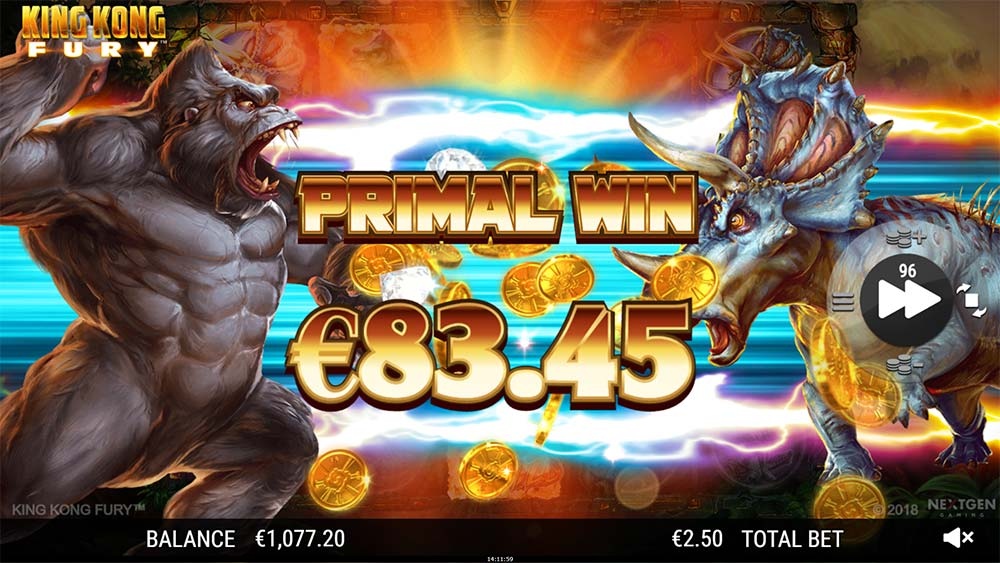 King Kong Fury - Primal Win