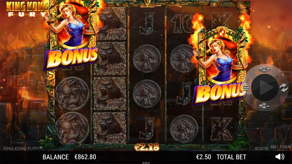 King Kong Fury - Bonus Trigger