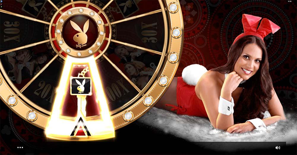 Playboy Gold Slot - Bonus Wheel
