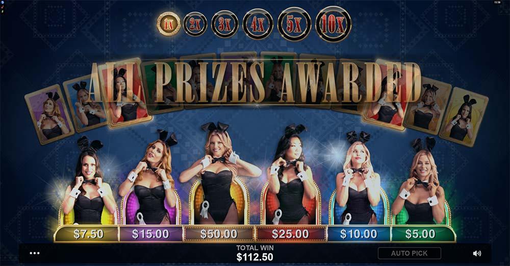 Playboy Gold Slot - Picking Round