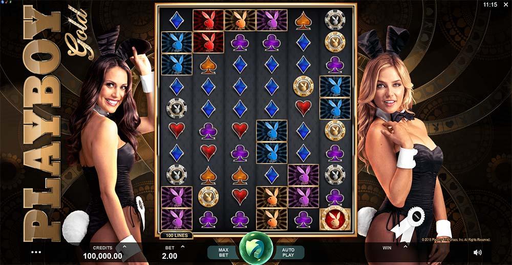 Playboy Gold Slot - Base Game