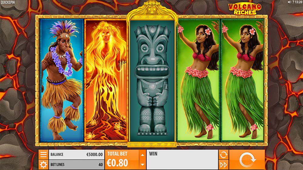 Volcano Riches Slot - Base Game