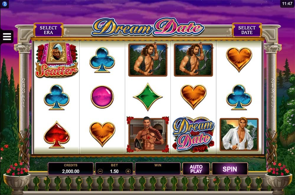 Dream Date Slot - Base Game