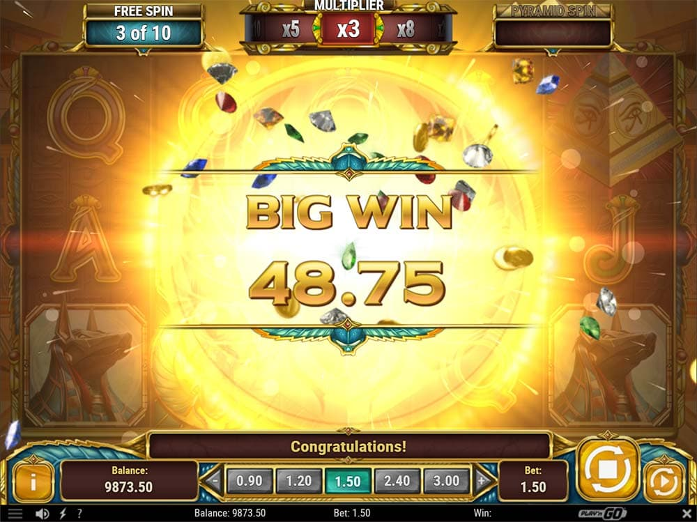Legacy of Egypt Slot - Big Win