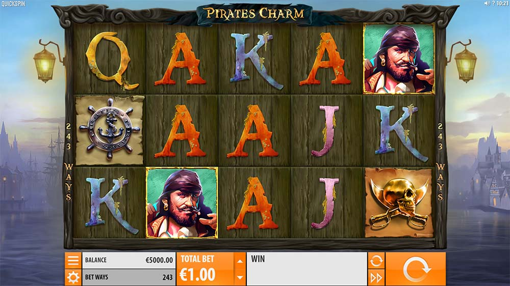 Pirate's Charm Slot - Base Game