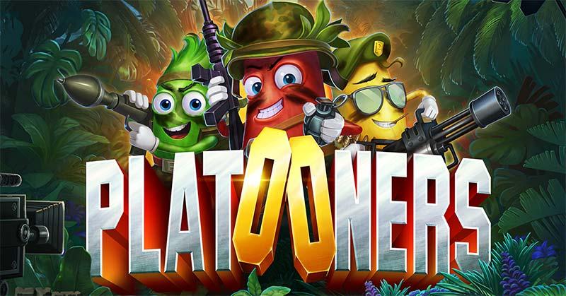 Platooners Slot Logo