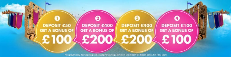 Vera & John Exclusive Welcome Bonuses