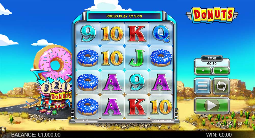 Donuts Slot - Base Game