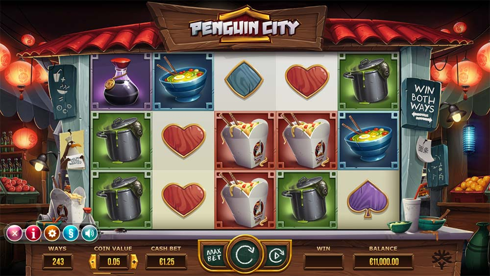 Penguin City Slot - Base Game