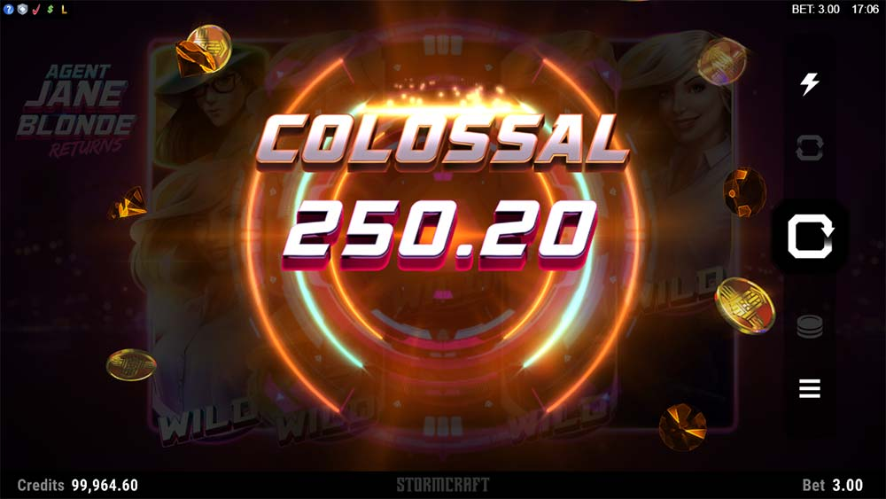 Agent Jane Blonde Returns Slot - Colossal Win