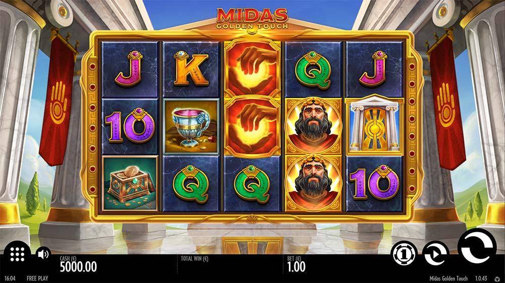 Midas Golden Touch Slot - Base Game