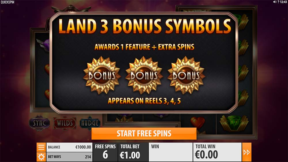 The Grand Slot - Bonus Start