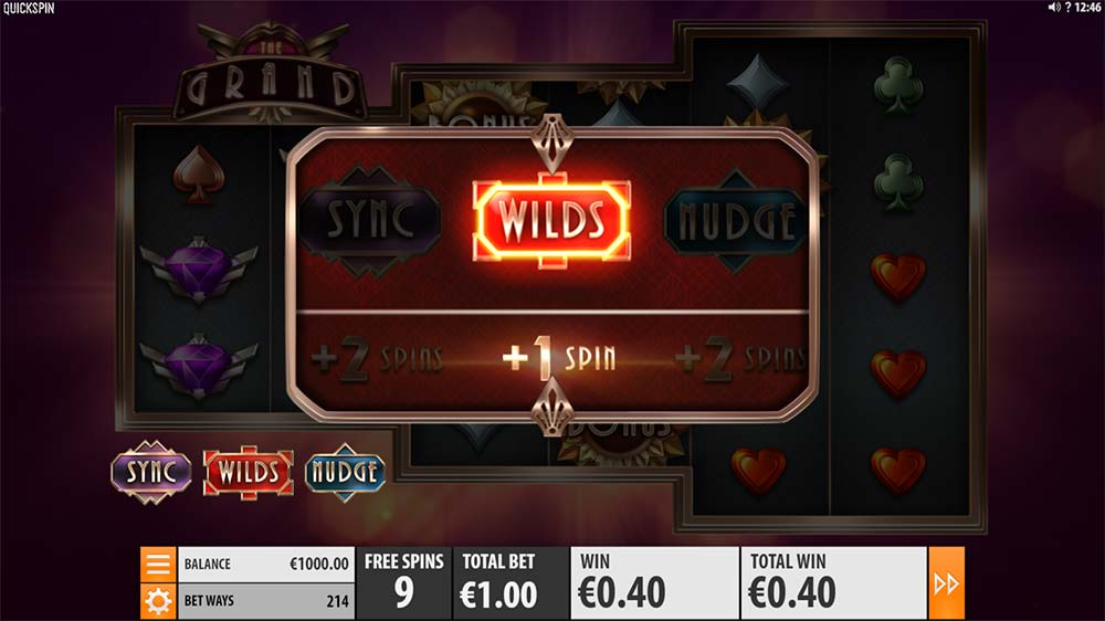 The Grand Slot - Added Wilds Feature
