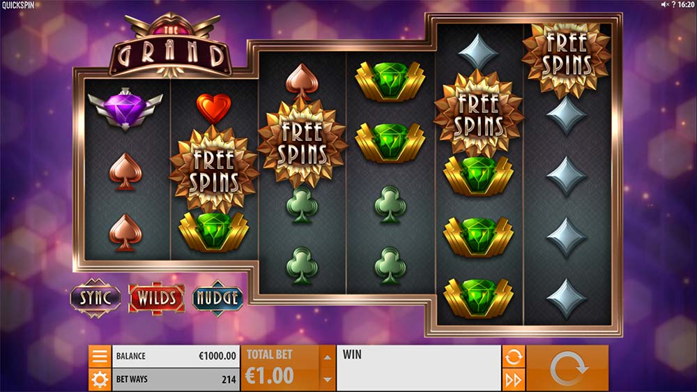 The Grand Slot - Free Spins Trigger