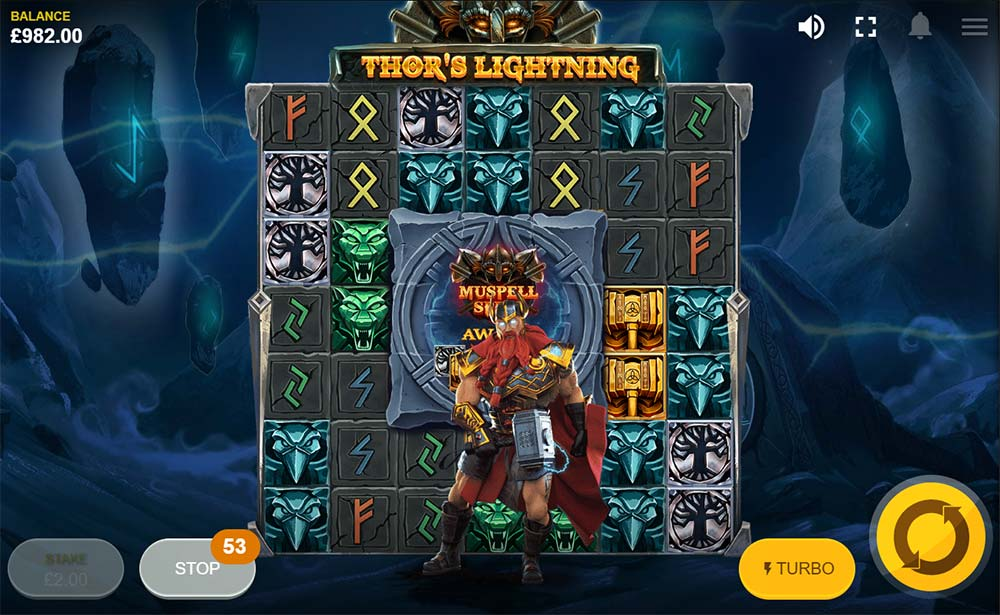 Thor's Lightning Slot - Special Features