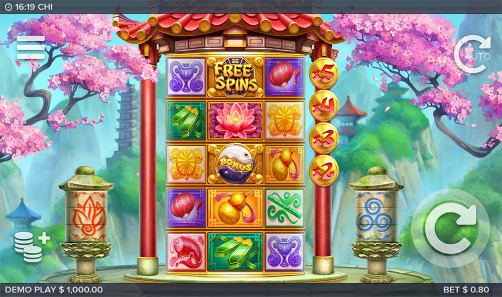 Chi Slot - Base Game