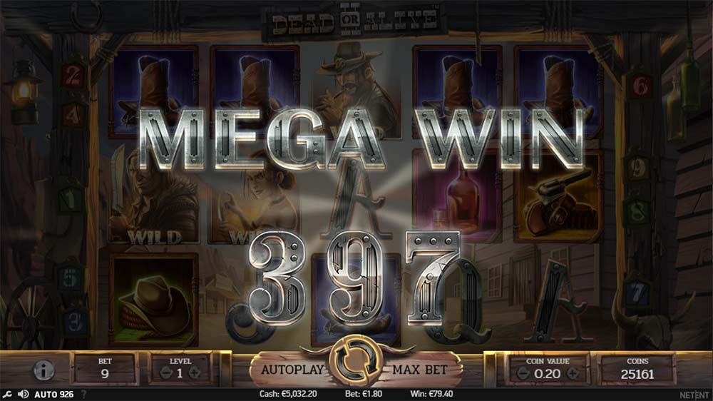 Dead or Alive II - Mega Win