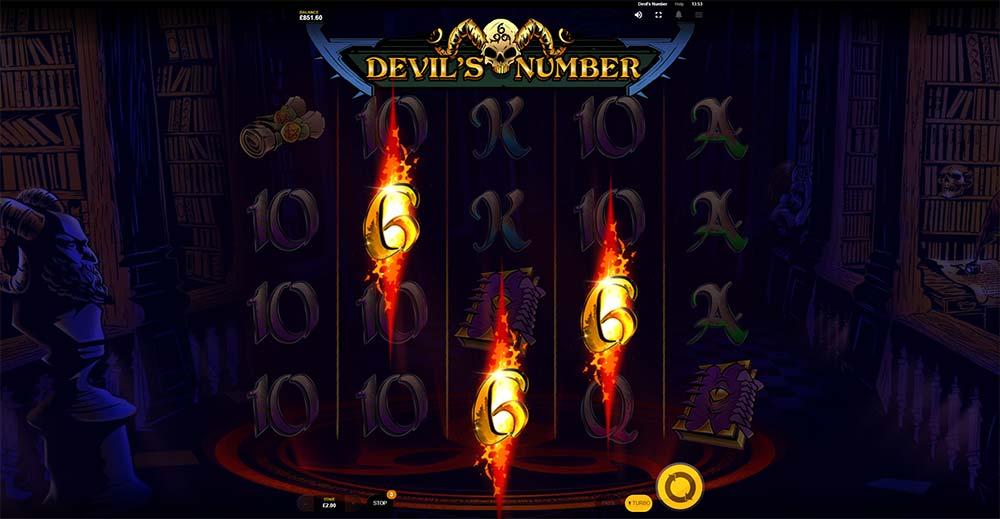 Devil's Number Slot - Bonus Trigger
