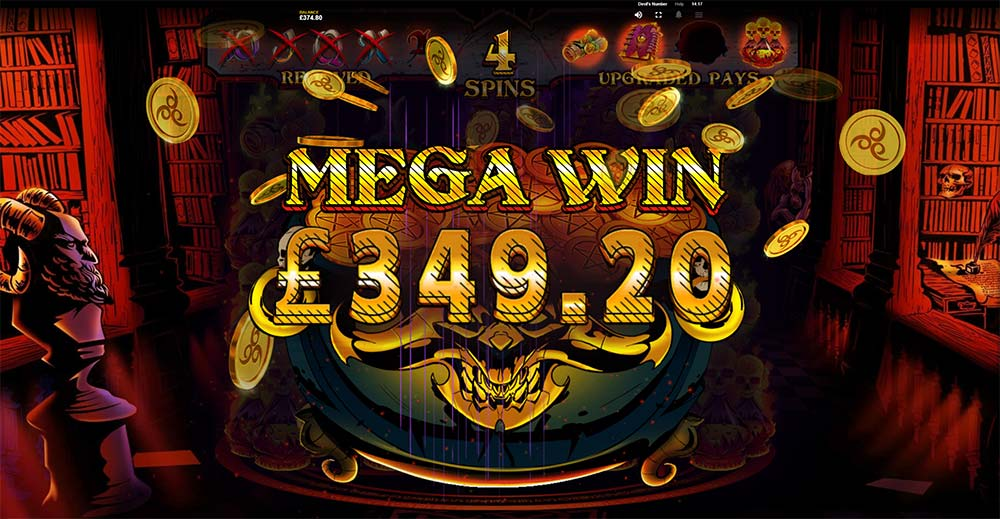 Devil's Number Slot - Mega Win