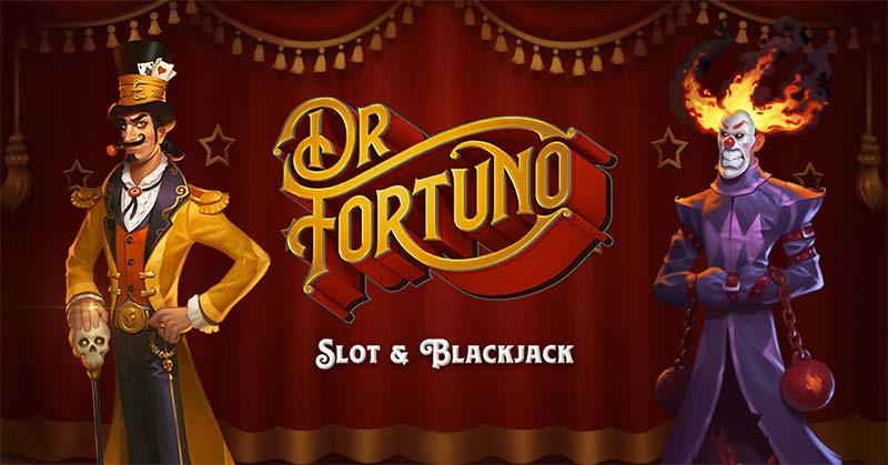 Dr Fortuno Slot Logo