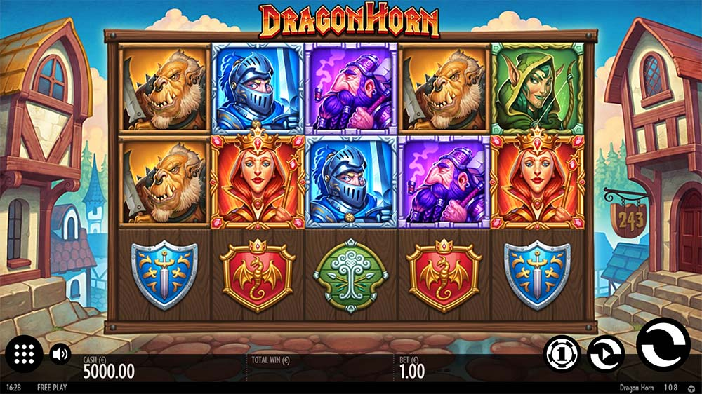 Dragon Horn Slot - Base Gameplay