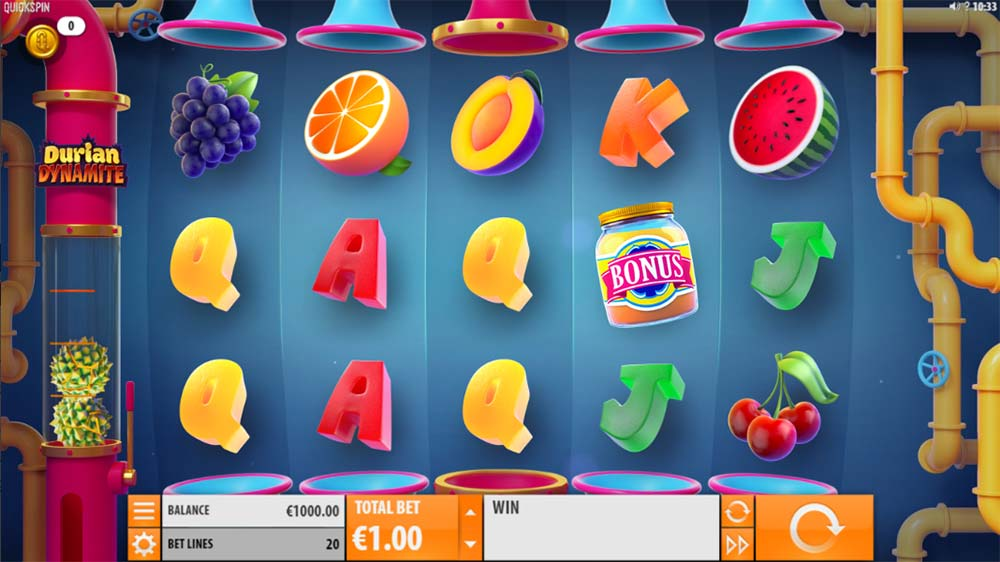 Durian Dynamite Slot - Base Game