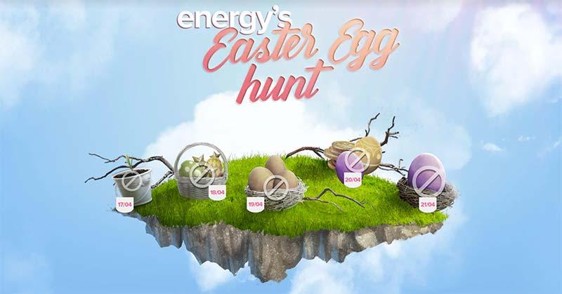 Energy Casino Easter Egg Hunt Promotion