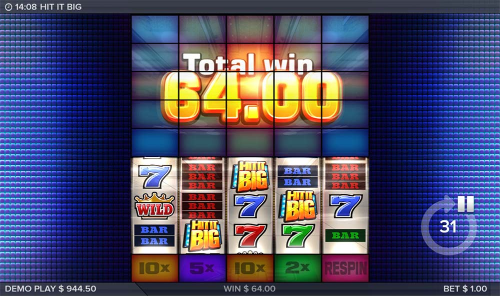 Hit It Big Slot - Bonus End
