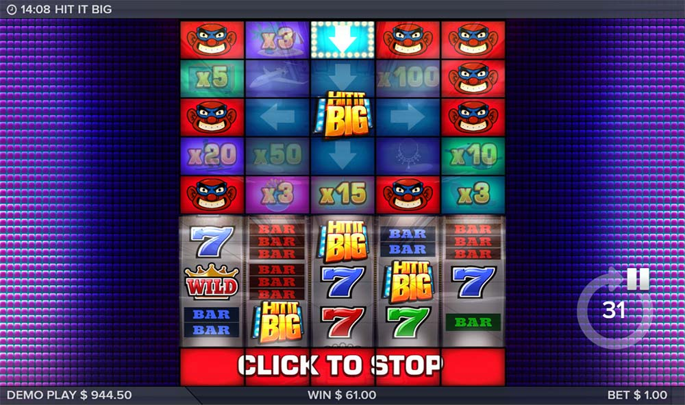 Hit It Big Slot - Main Bonus Feature