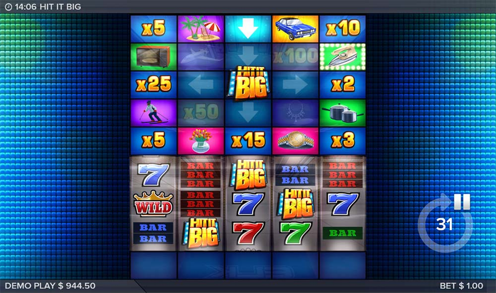 Hit It Big Slot - Bonus Start