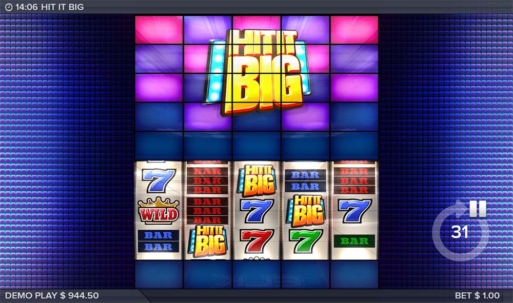 Hit It Big Slot - Bonus Triggered