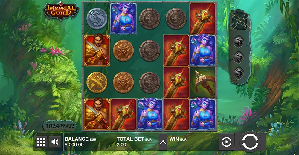 Immortal Guild Slot - Base Game