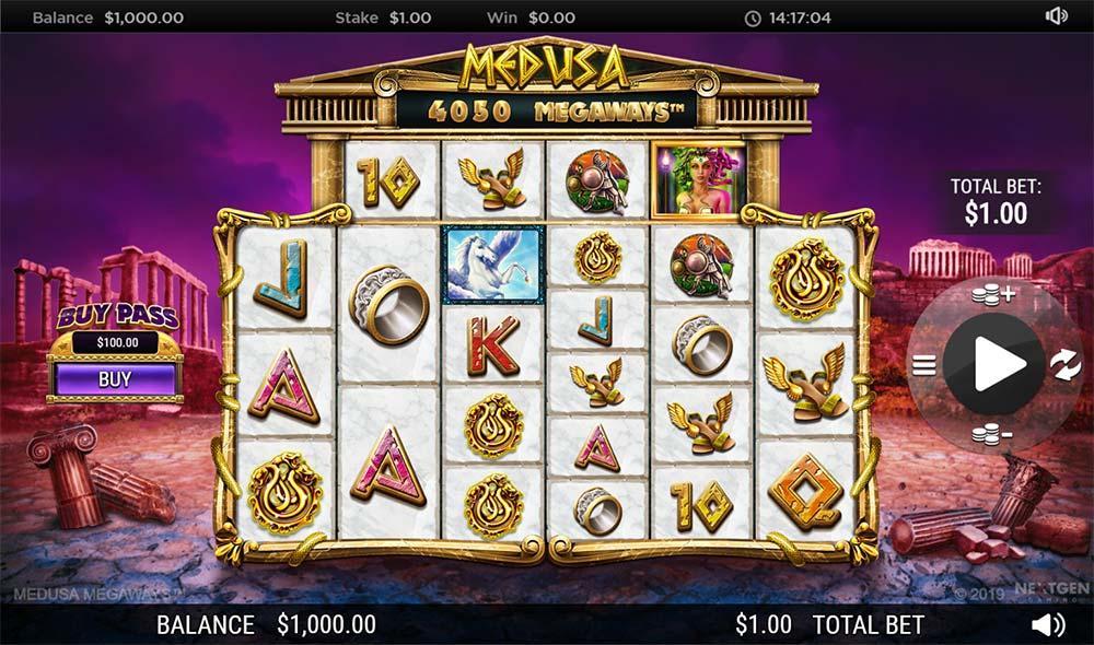 Medusa Megaways Slot - Base Game