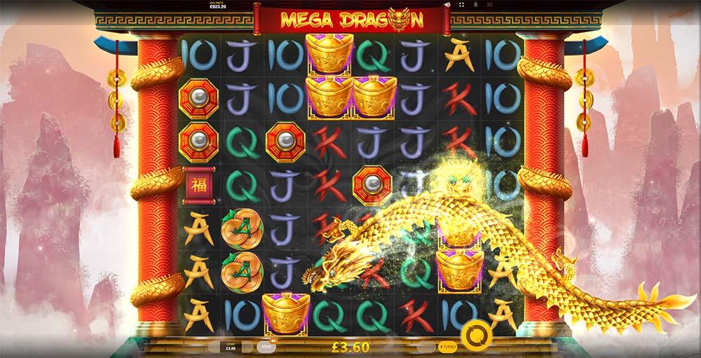 Mega Dragon Slot - Wild Dragon Feature