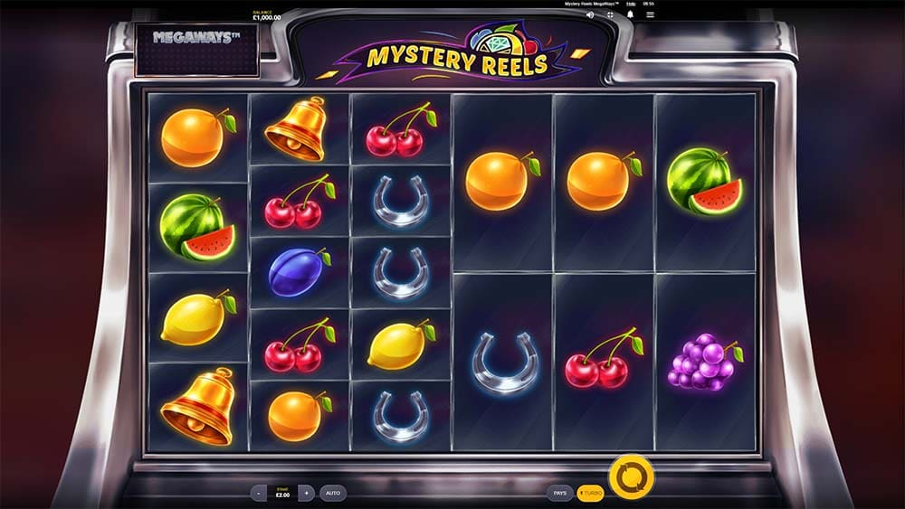 Mystery Reels Megaways Slot - Base Game