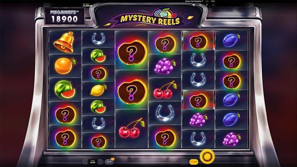 Mystery Reels Megaways Slot - Mystery Fruit Feature