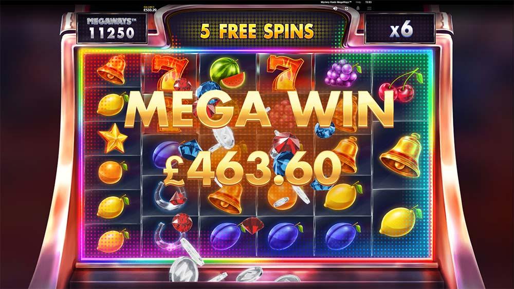 Mystery Reels Megaways Slot - Mega Win