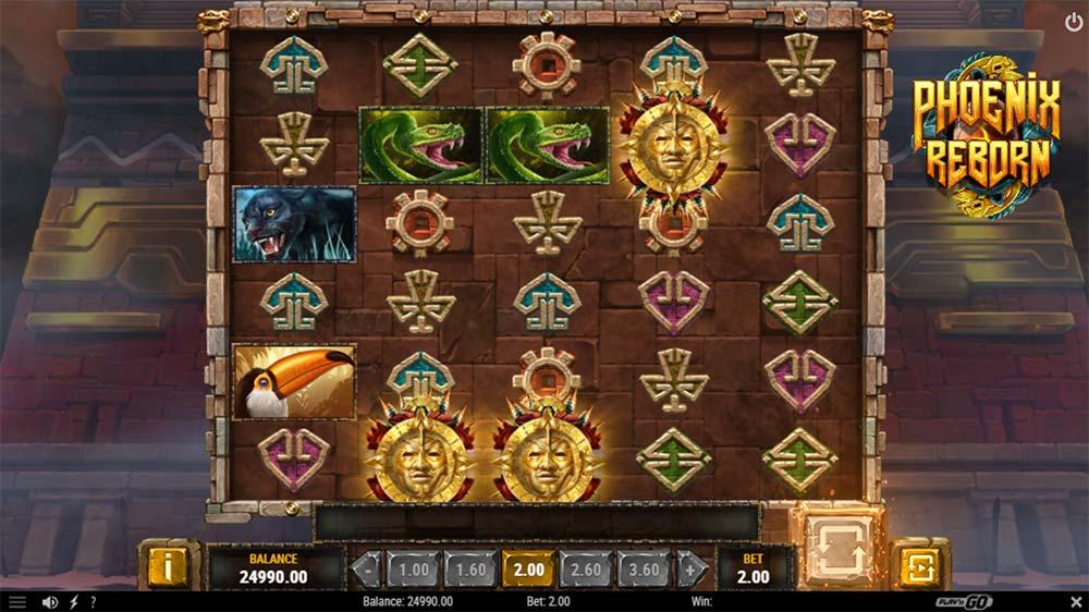 Phoenix Reborn Slot - Bonus Trigger