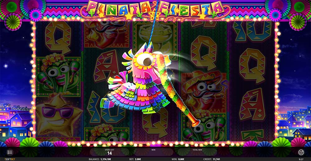 Pinata Fiesta Slot - Random Feature Activated