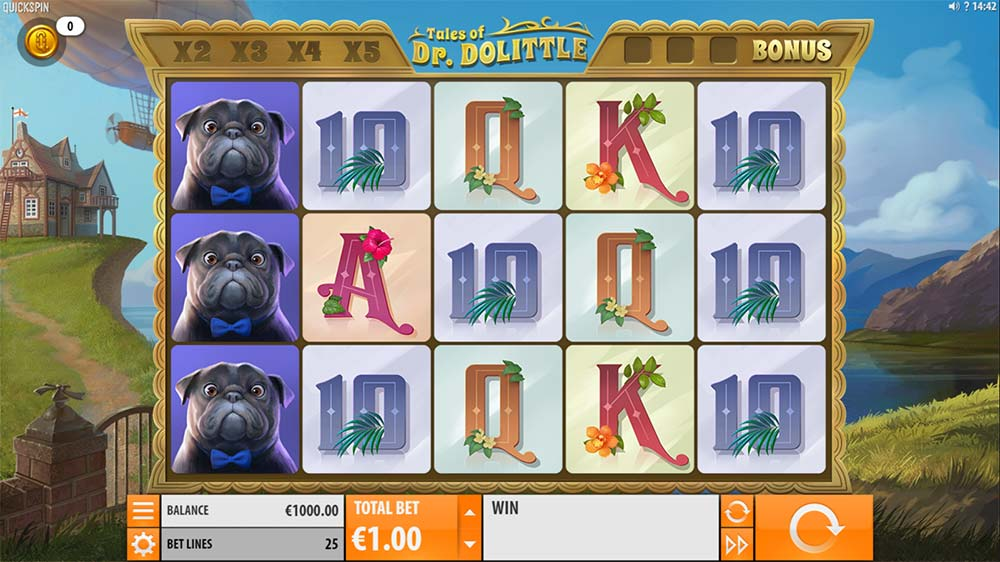 Tales of Dr. Dolittle Slot - Base Game