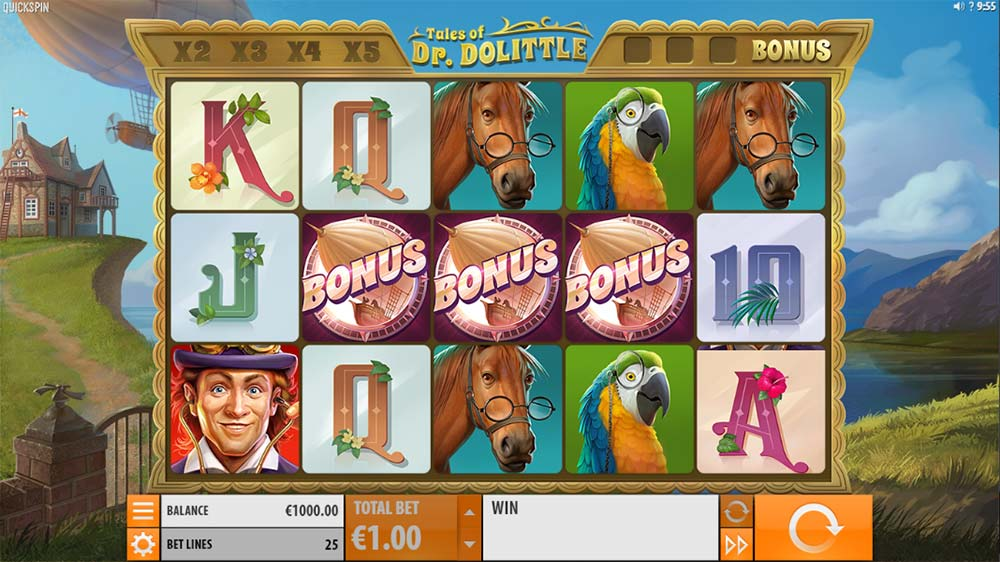 Tales of Dr. Dolittle Slot- Bonus Trigger