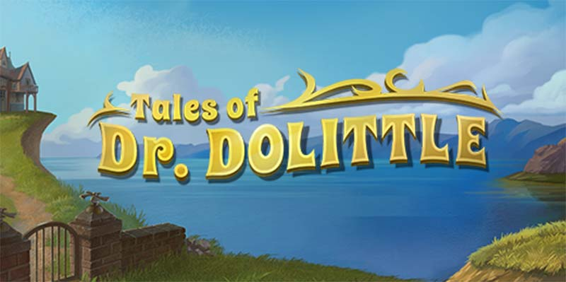 Tales of Dr, Dolittle Slot Logo