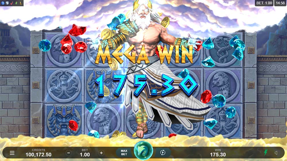 Ancient Fortunes: Zeus Slot - Mega Win