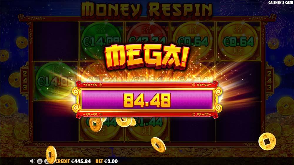 Caishen's Cash Slot - Mega Win