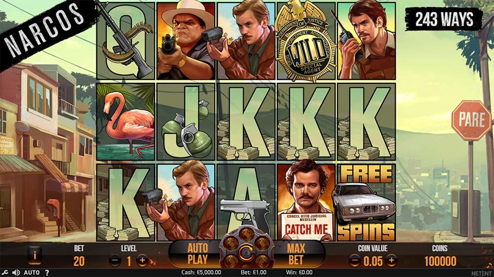 Narcos Slot - Base Game