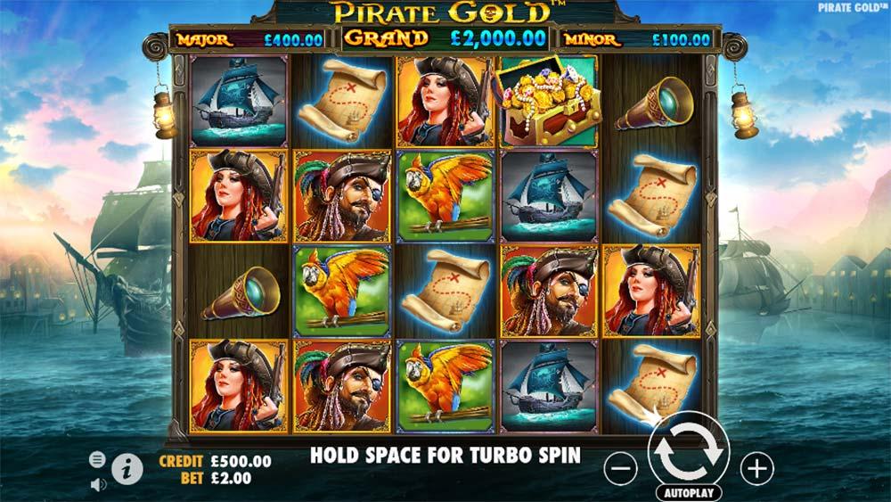 Pirate Gold Slot - Base Game
