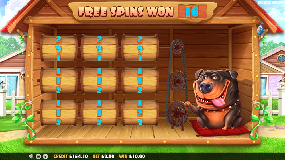 The Dog House Slot - Free Spins Bonus