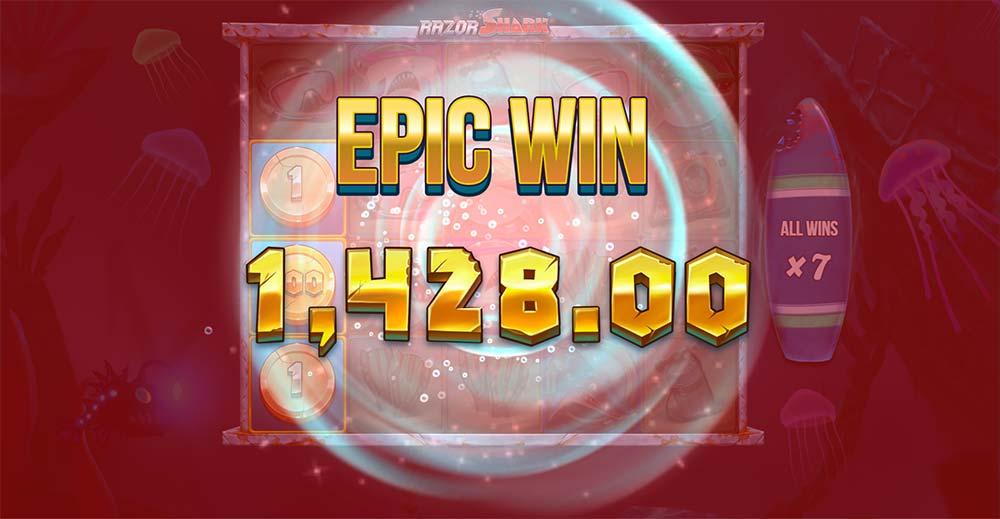 Razor Shark Slot - Epic Win