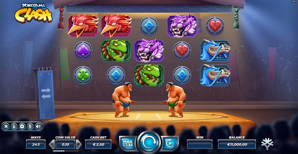 Yokozuna Clash Slot - Base Game