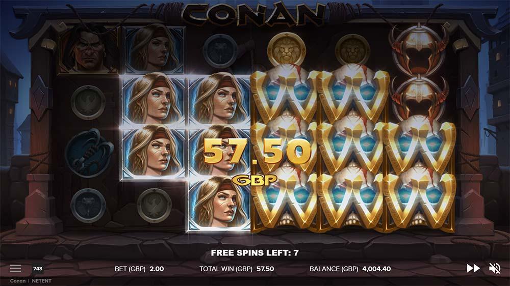 Conan Slot - Tower Wilds